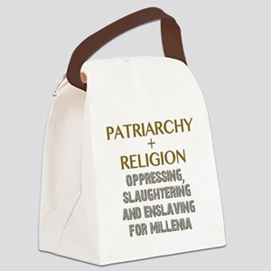 Patriarchy and Religion Canvas Lunch Bag